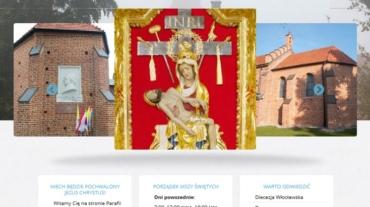 strona internetowa parafia piotrkow kujawski programista do wynajecia