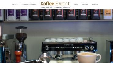 strona coffee-event.pl programista do wynajecia